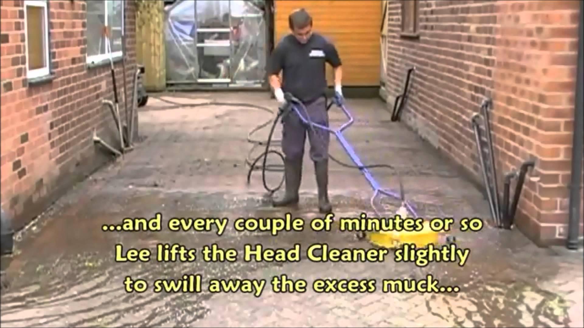 cleaning block paving driveway sealing pressure jet washing