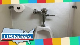 Breaking News – Employees baffled by female co-worker's toilet cleaning