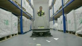 TF110R-TRS TOPFLOOR Industrial Floor Sweeper