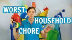 Worst Housekeeping Chore ⭐⭐⭐⭐⭐